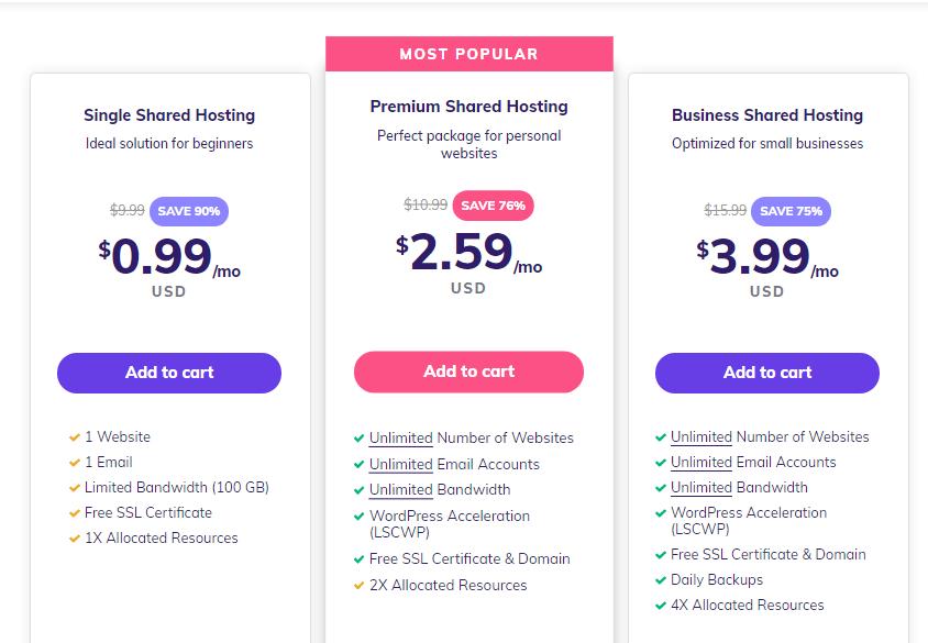 hostinger-pricing-plans